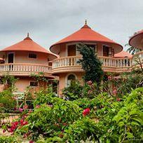 round-rooms-at-amritapuri-ashram