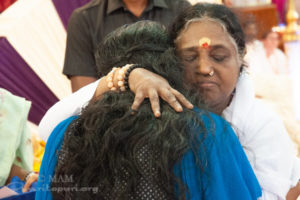 divine mother amma giving hug