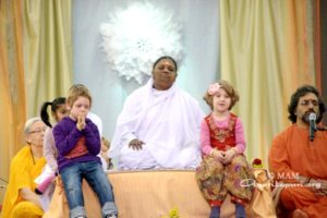 amma on stage in london