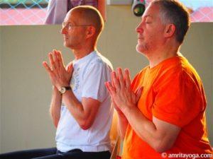 devotion practice at amrita yoga retreat