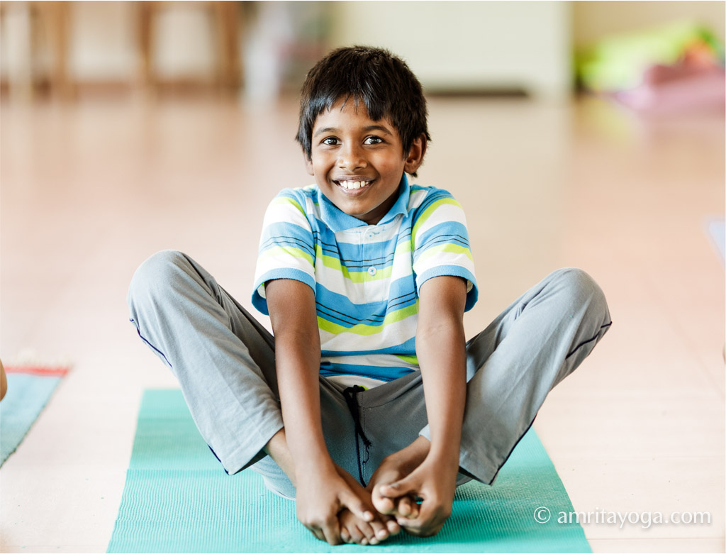 amrita yoga kids image