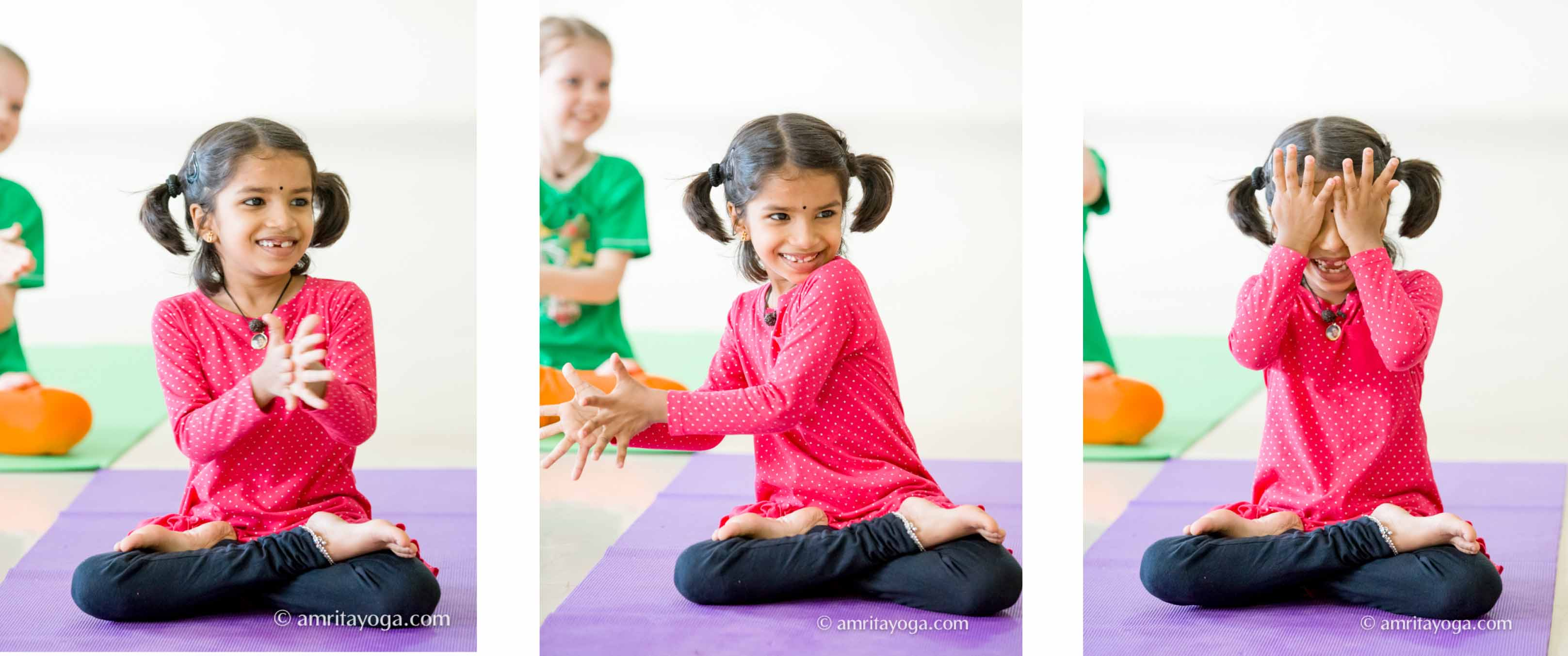 amrita yoga kids series