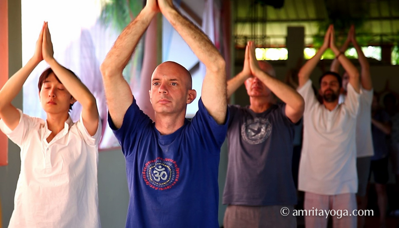 What a Difference is Amrita Yoga Beginners' Retreat at Amritapuri