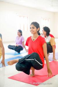 asana practice with amrita yoga