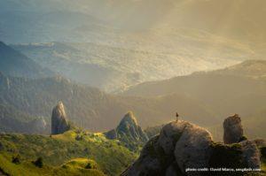 mountain landscape, david marcu