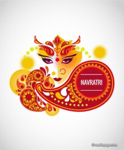 navratri graphic