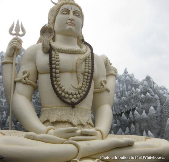 shiva statue with cc attribution