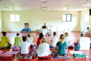 talk at amrita yoga class