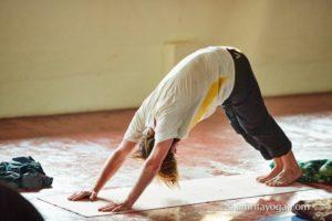 downward dog pose self-practice self practice